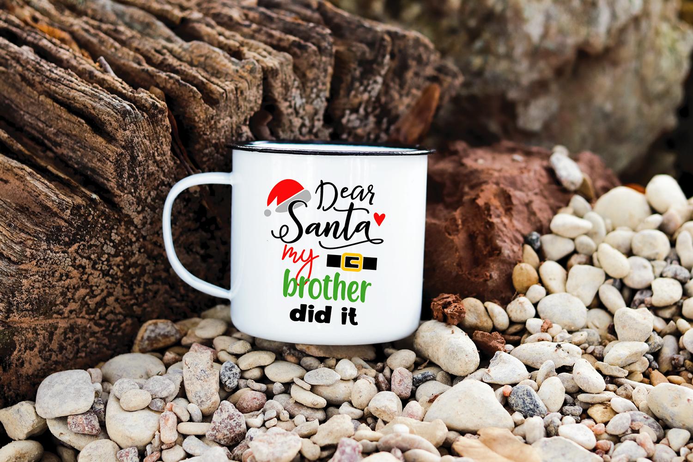 Dear Santa Christmas Bundle SVG cut files example image 9