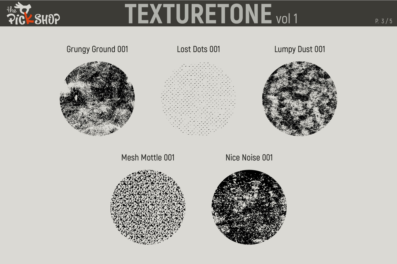 Texturetone Promo Pack. Vol 01 and Vol 02 example image 4