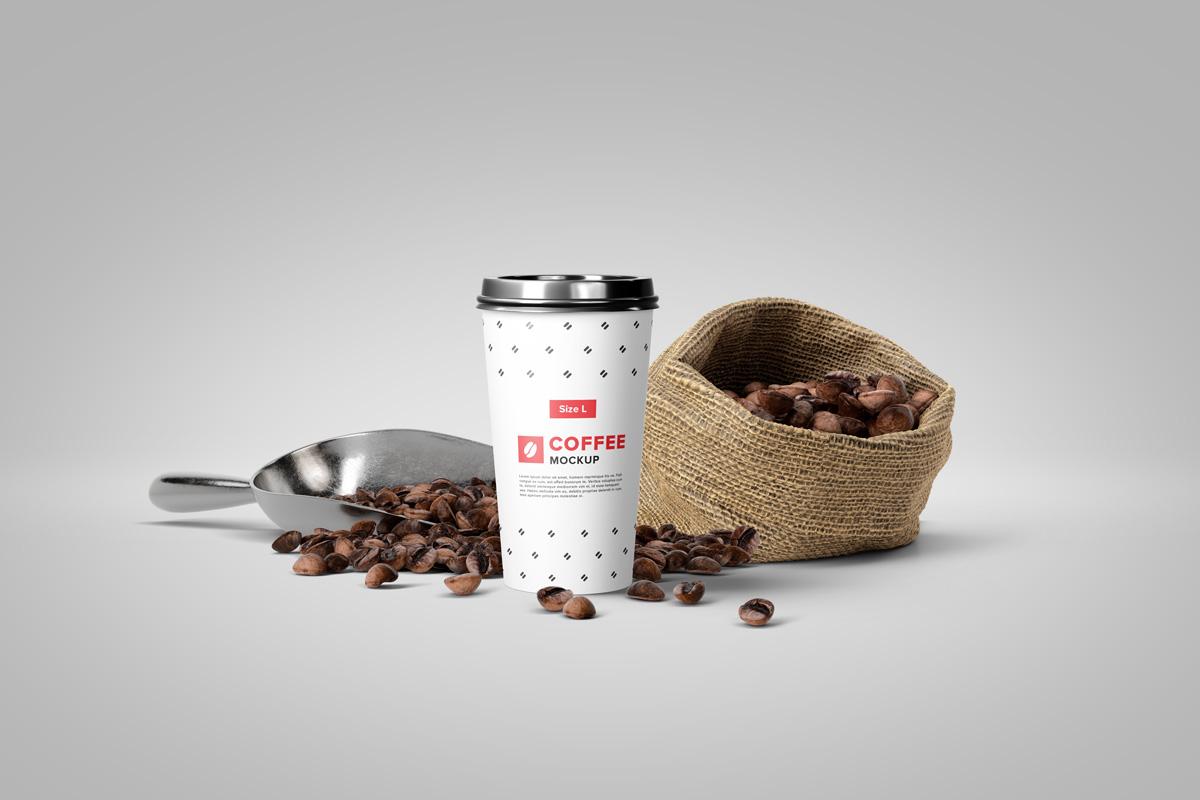 Coffee Mockup Scene Creator example image 6