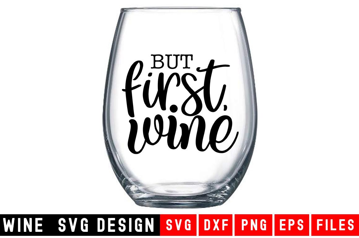 Wine SVG Bundle  10 Designs Wine SVG example image 10