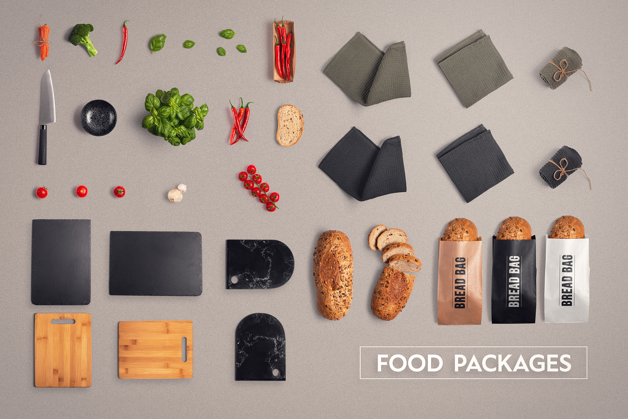 Food & Restaurant Mockup Collection example image 4