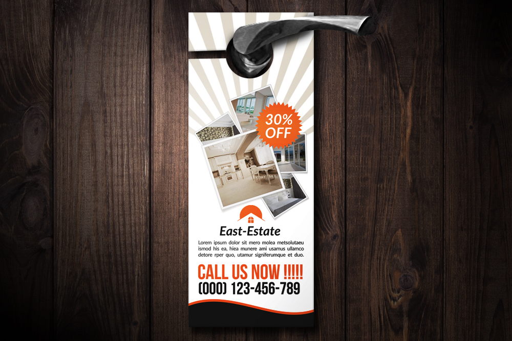 Real Estate Door Hangers example image 1