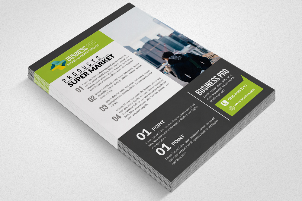 Business Associate Flyer Template example image 3