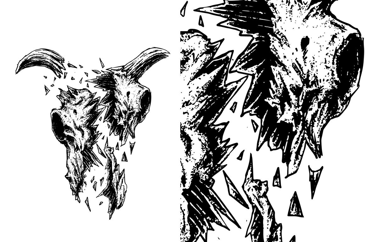 7 design skull VECTOR example image 5