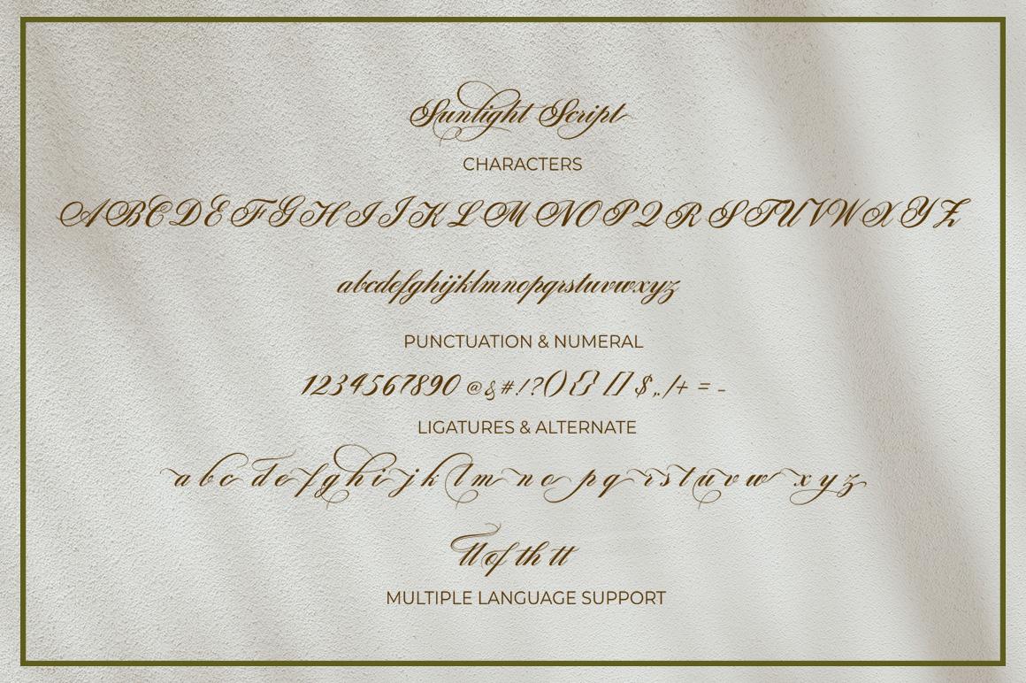 Sunlight Script example image 11