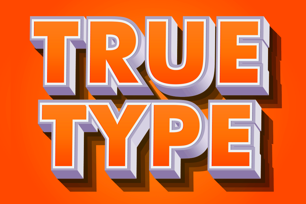 Modern text effects for illustrator example image 11