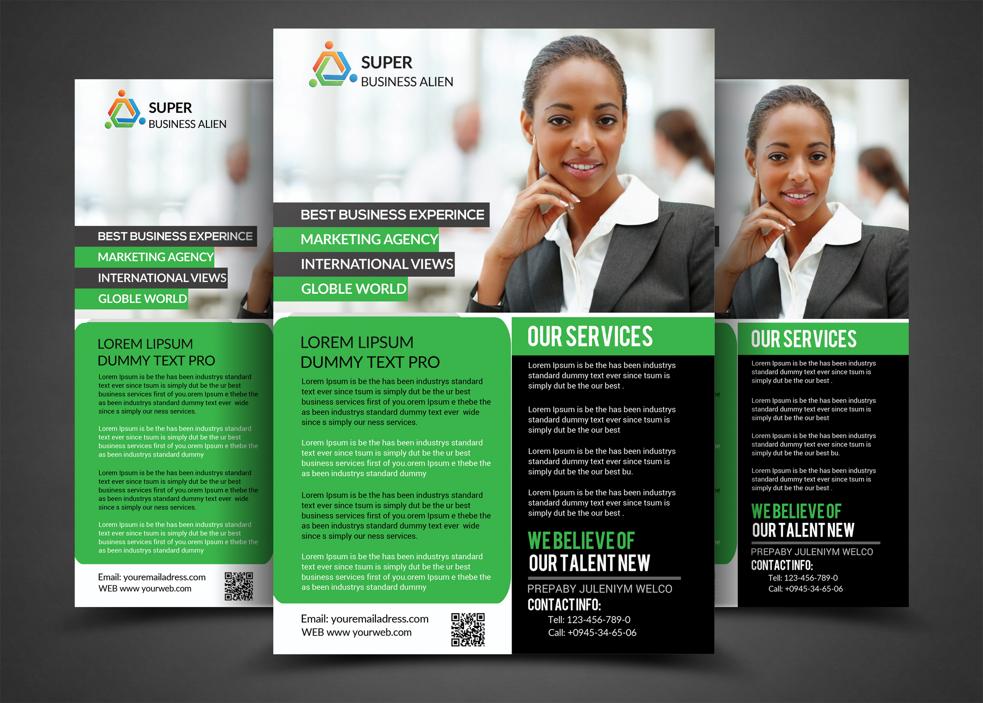 Business Corporate Flyer example image 1