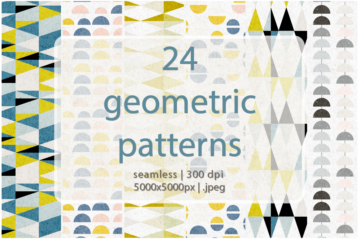 24 geometric patterns example image 1