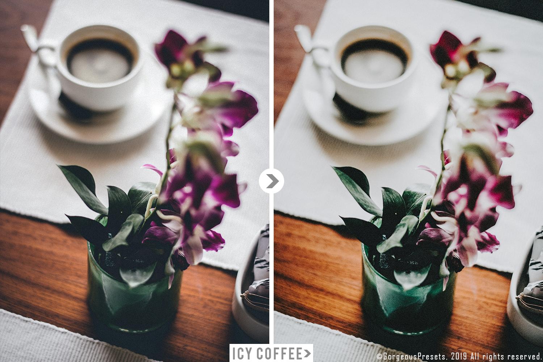 Mobile Lightroom Preset ICY COFFEE example image 6