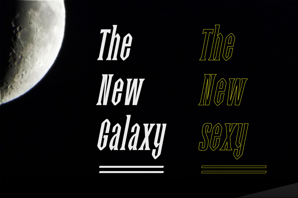 Story Night Font example image 2