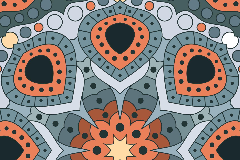 Vector Mandala Art example image 3