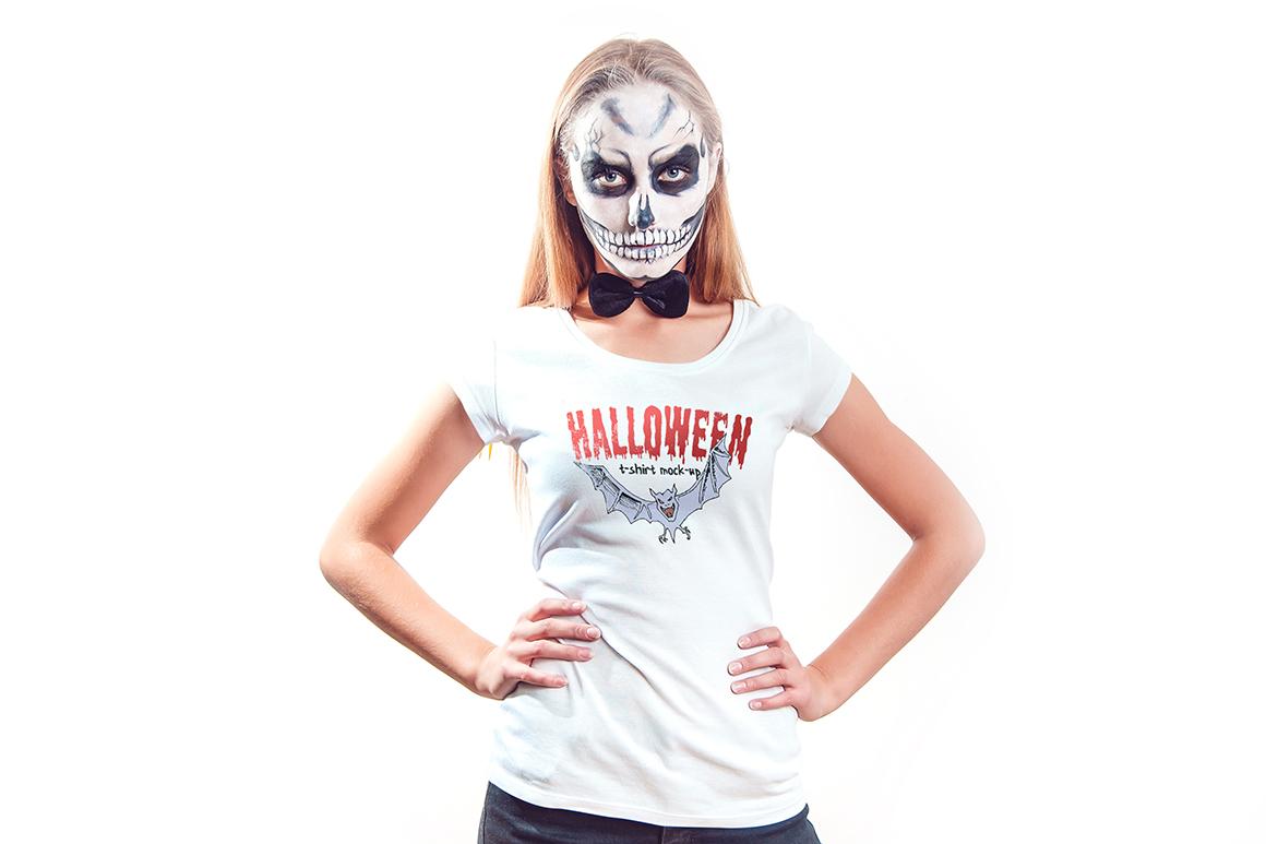 Halloween T-Shirt Mock-Up example image 5