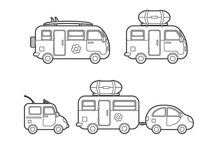 Travel trailers collection example image 5