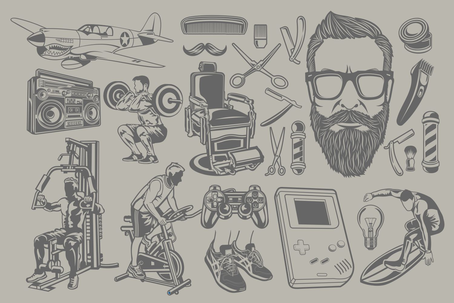 The Vector Bundle - 147 Vector Objects example image 8
