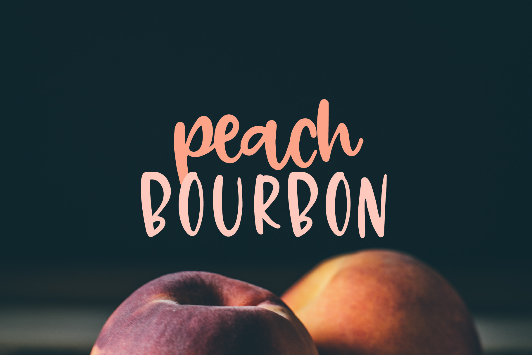 Peach Bourbon example image 1