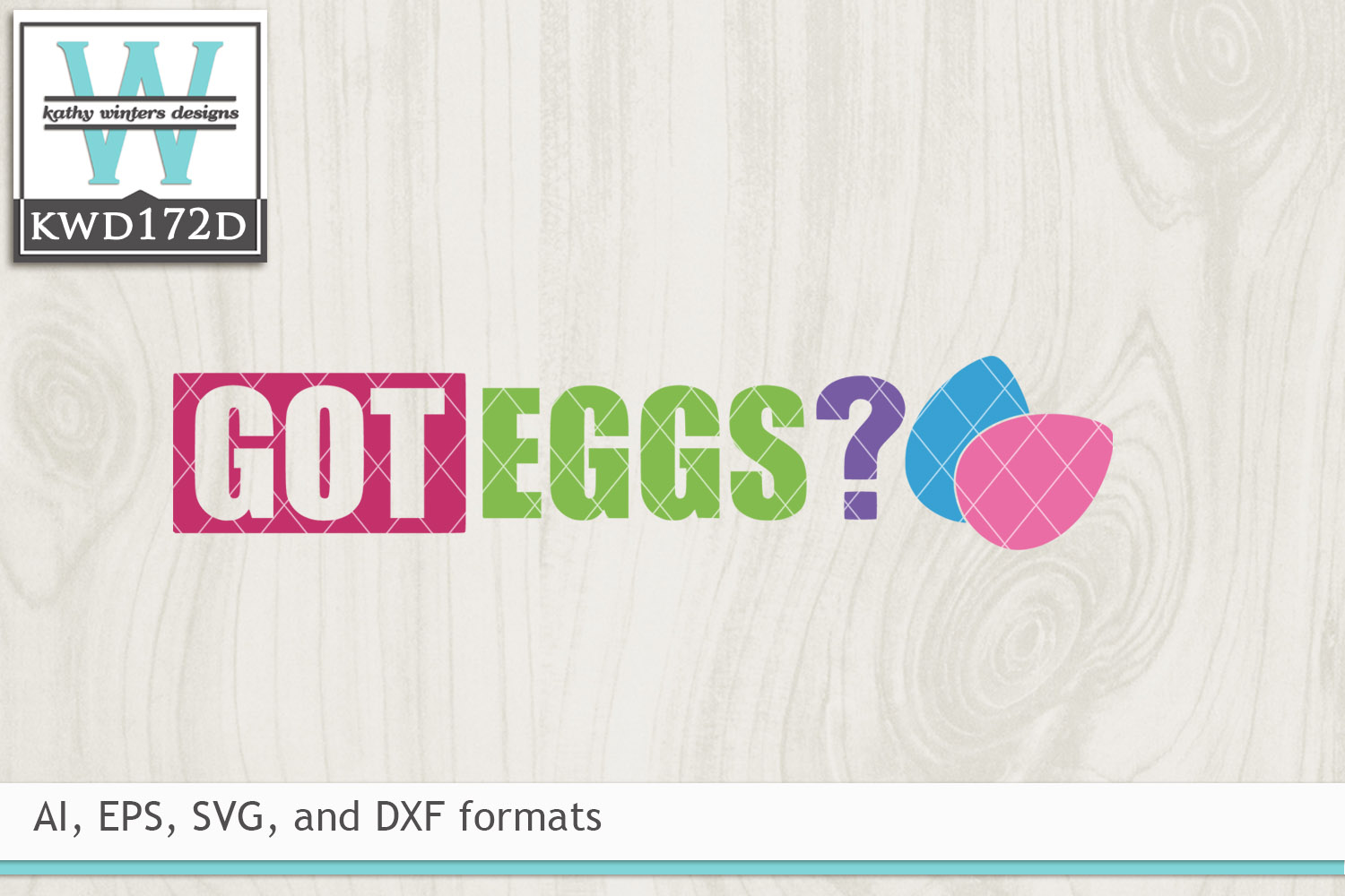 Easter SVG - Got Eggs example image 2