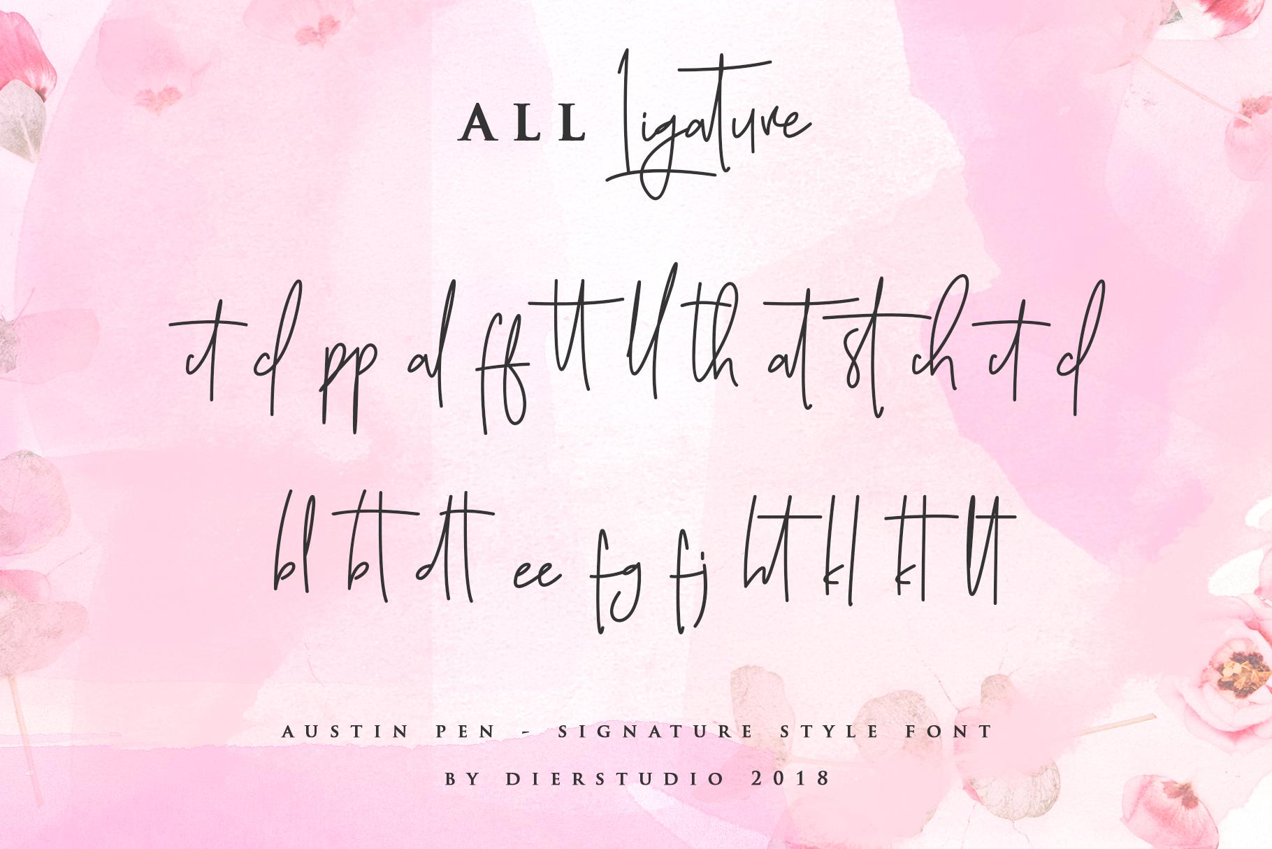 Austin Pen - Signature Monoline example image 11