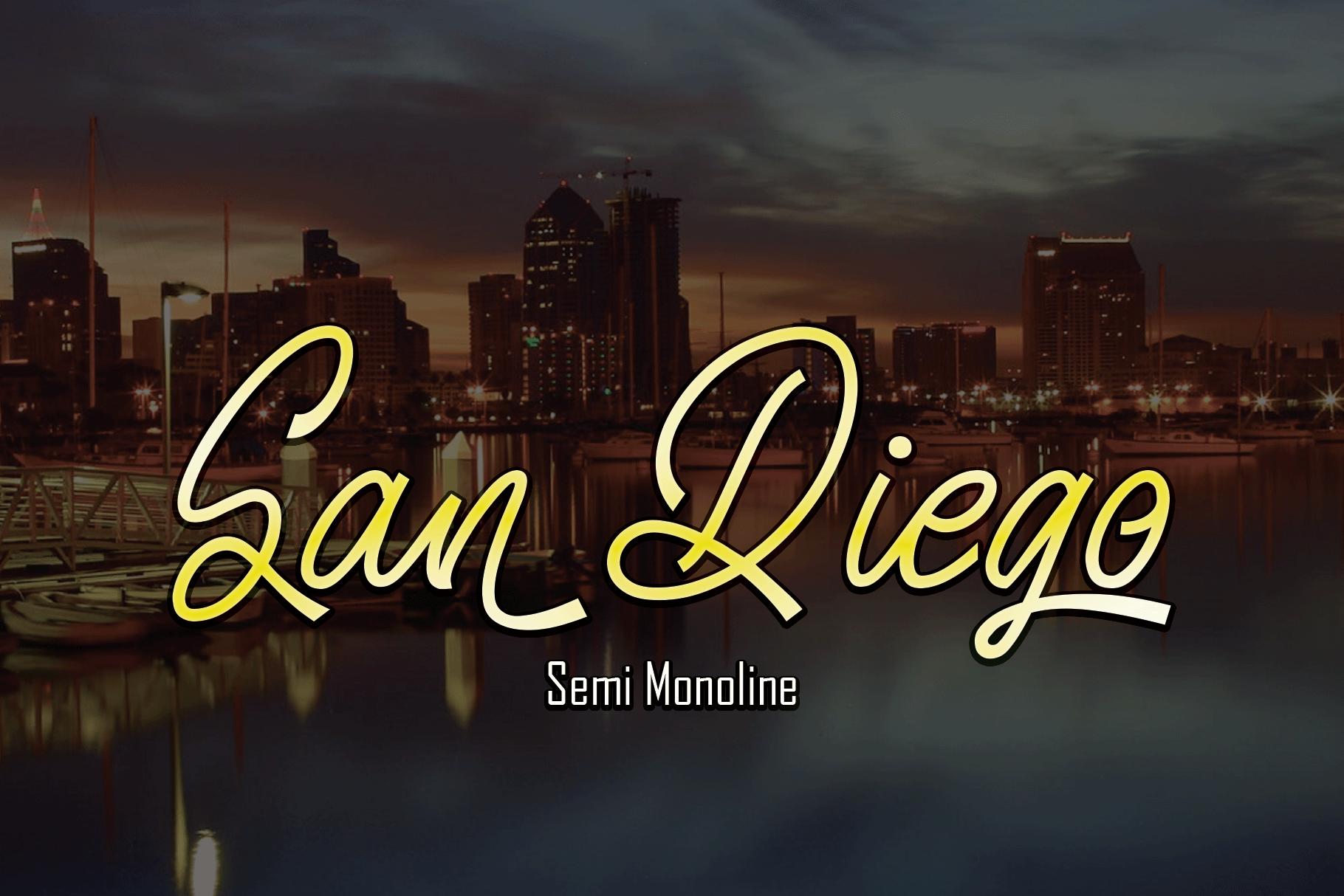 San Diego example image 1