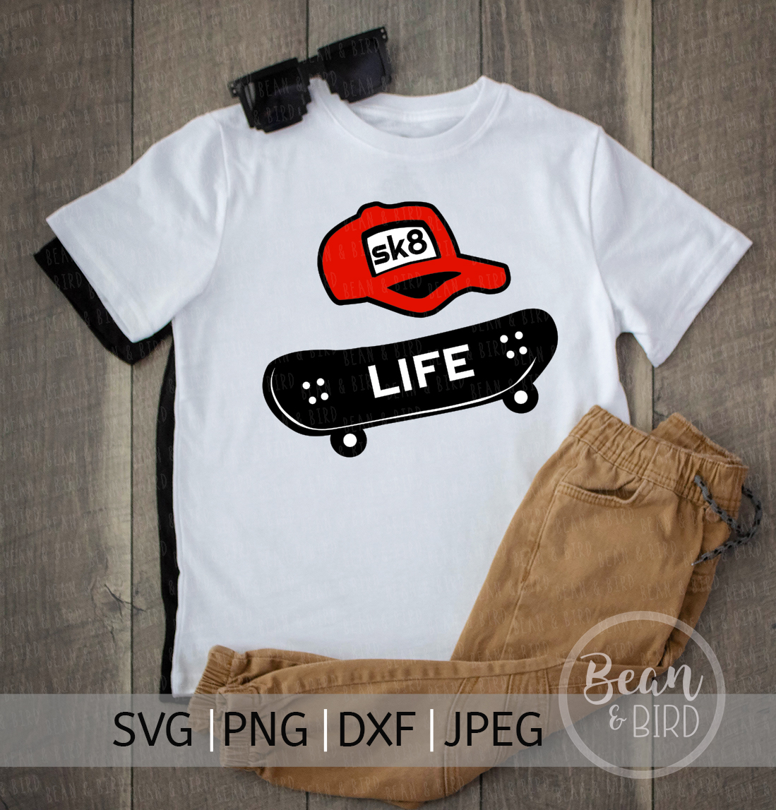Skate Life Sports Svg Cut File example image 2