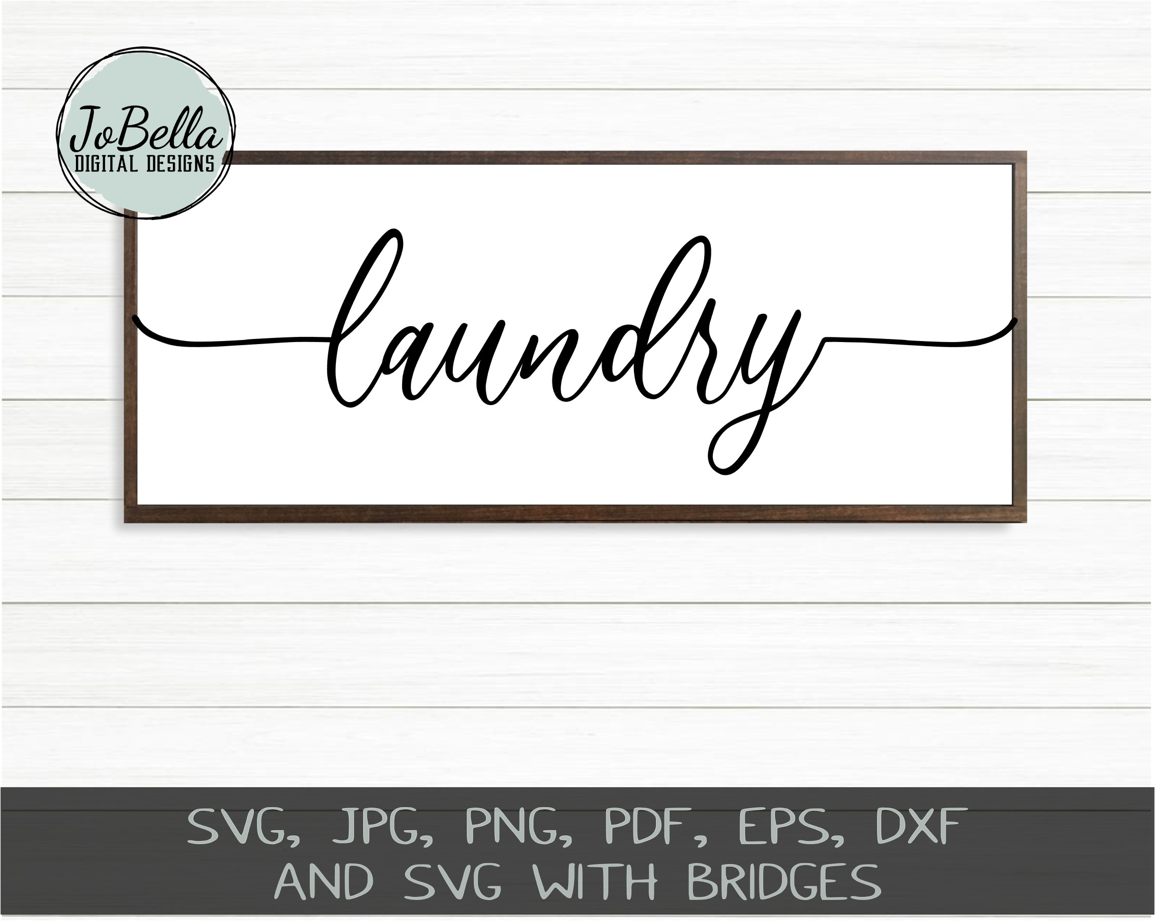 Farmhouse Home Words SVG Bundle, PNGs and Printables example image 6