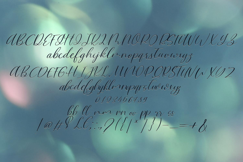 Magic Flower Font Trio example image 5