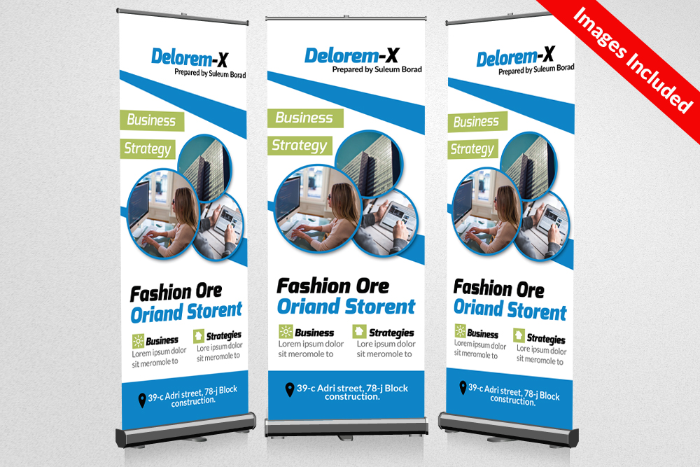 Business Roll Up Banners example image 1