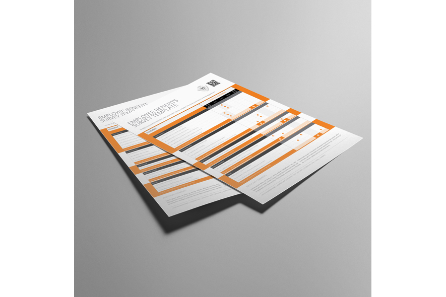 Employee Benefits Survey Form US Letter Template example image 2
