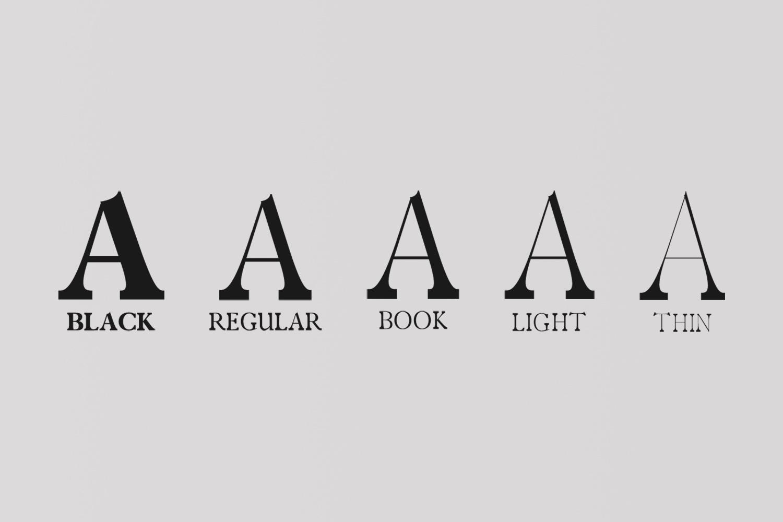 Zack Serif Typeface example image 3