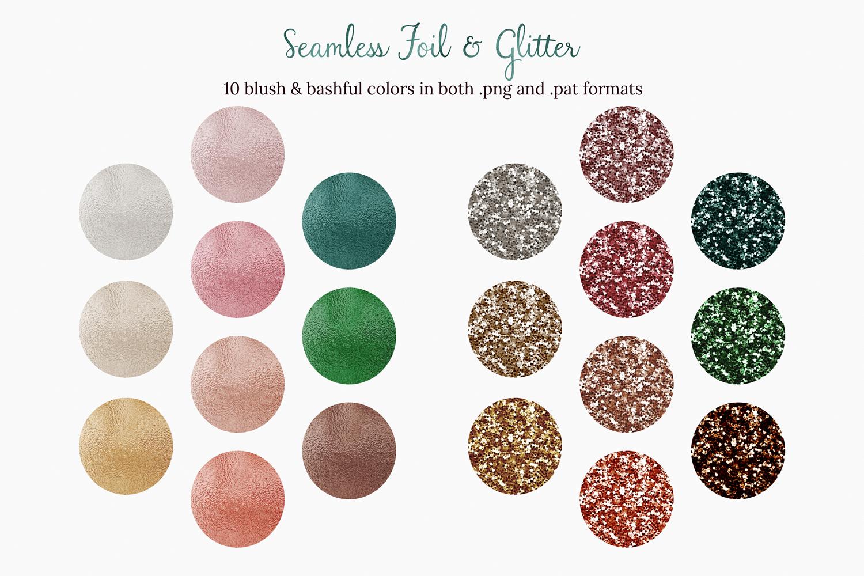 Blush & Bashful Blooms - Foil & Glitter example image 2