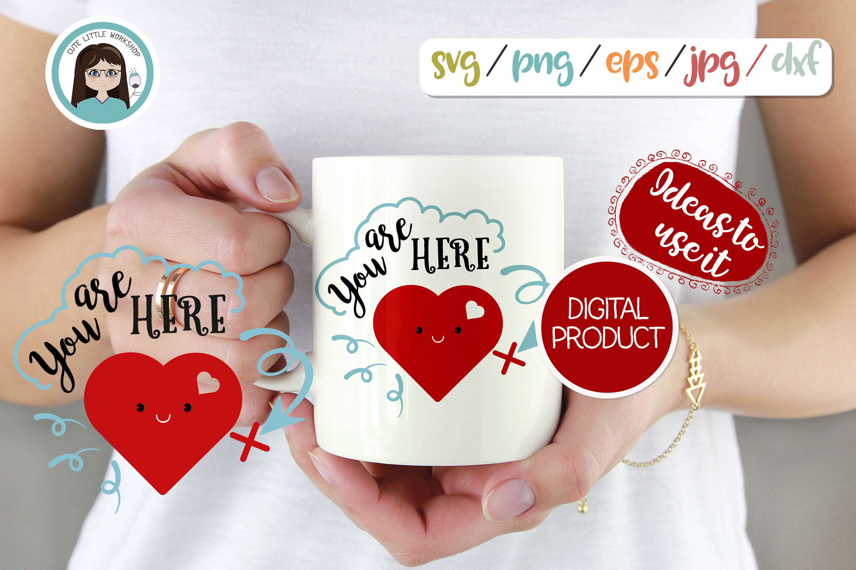 LOVE, Valentines svg, dxf, png, eps example image 5