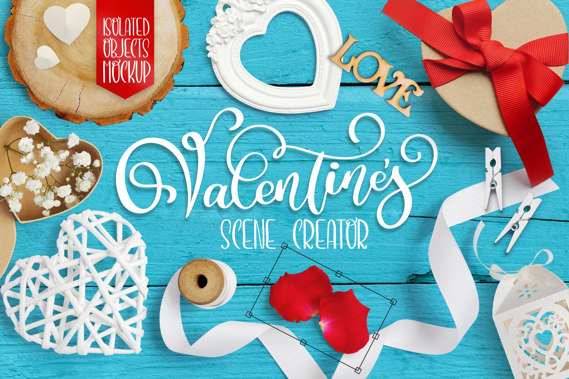 Valentine Bundle mockup example image 2