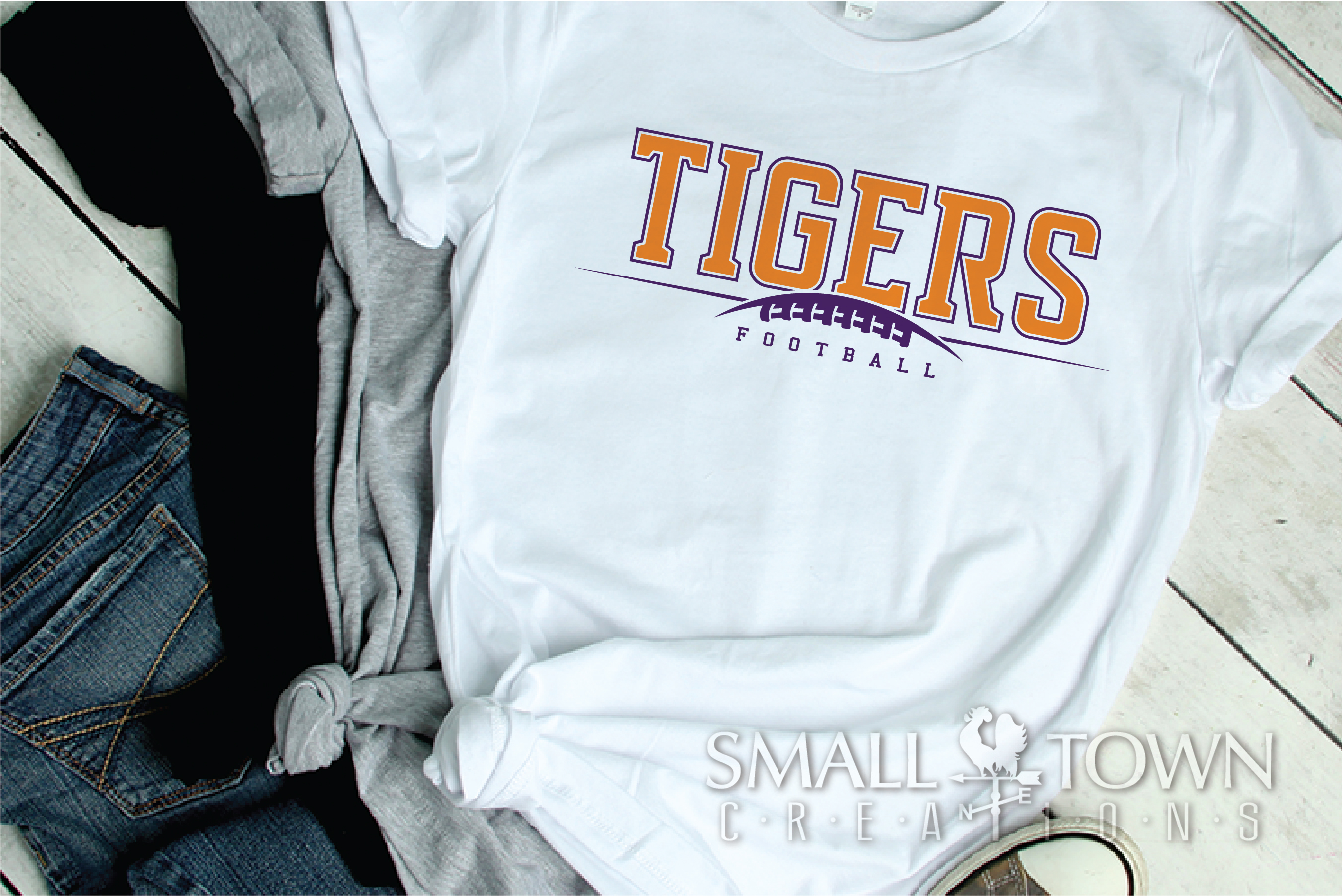 Tiger, Tiger Football Team, Team, Sport, PRINT, CUT & DESIGN example image 2