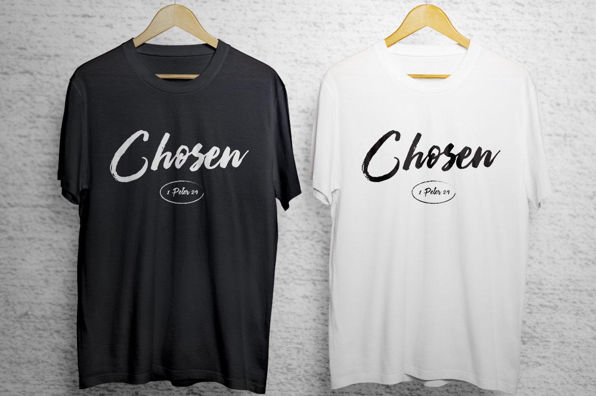 Chosen T-Shirt Artwork Template example image 3