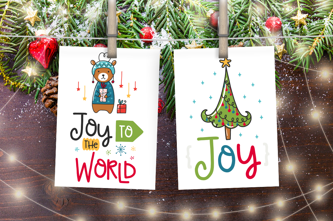 50 Christmas Cards with Quote! example image 6