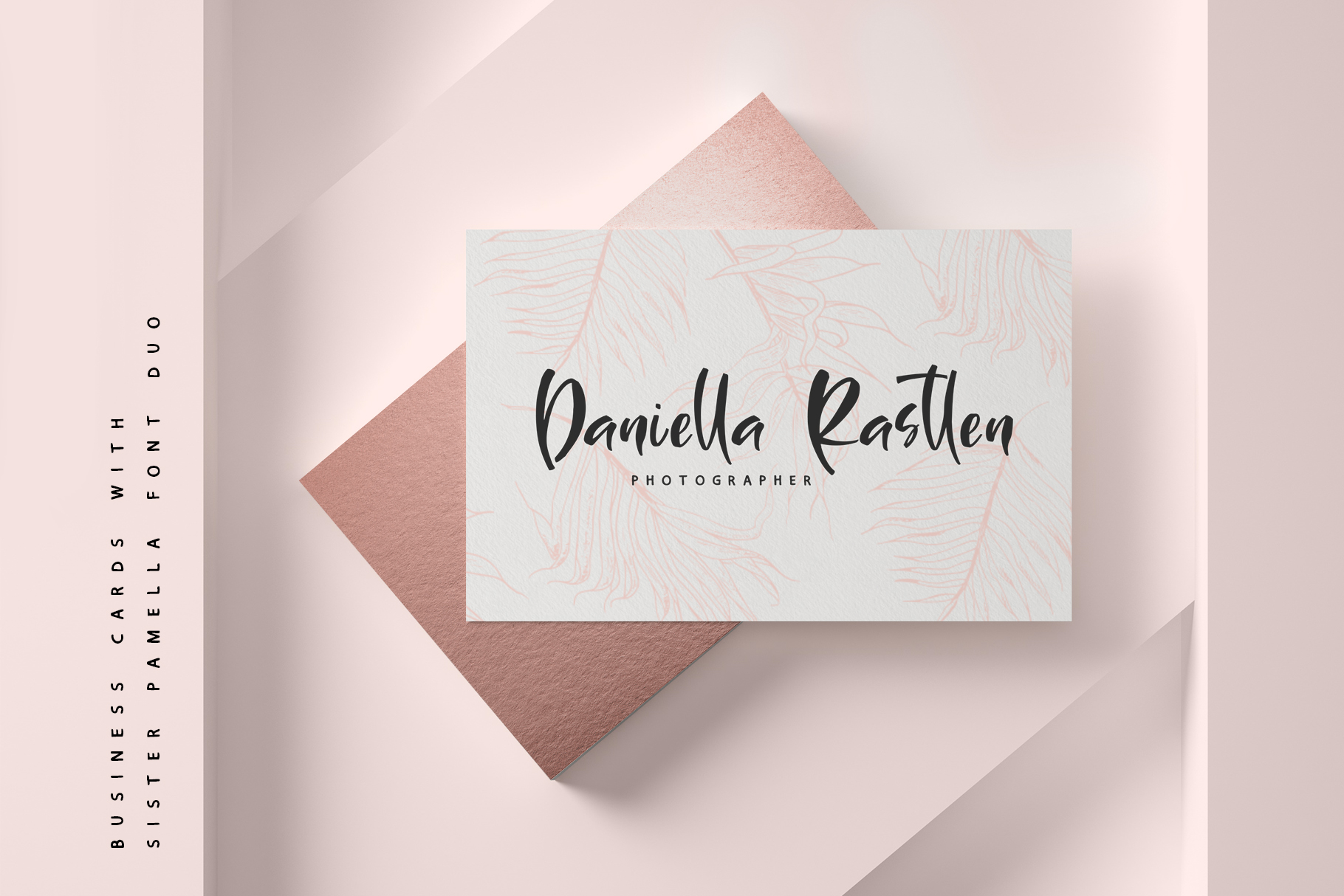 Sister Pamella Font Duo example image 9