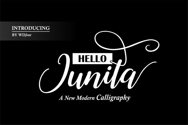 Hello Junita example image 3