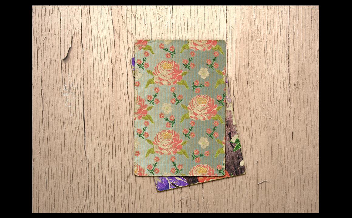 Textile flowers set. example image 4