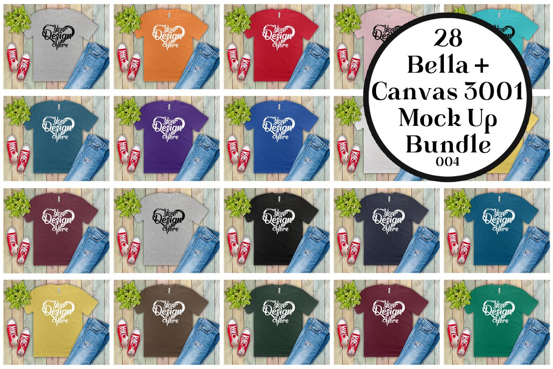 161 Bella Canvas 300 Mockups Mega Bundle Flat Lay T-Shirts example image 2