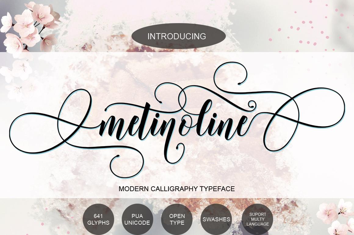Metinoline Script example image 16