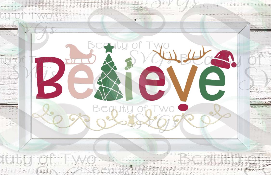 Farmhouse Christmas svg Sign Design bundle, 6 svg designs example image 3