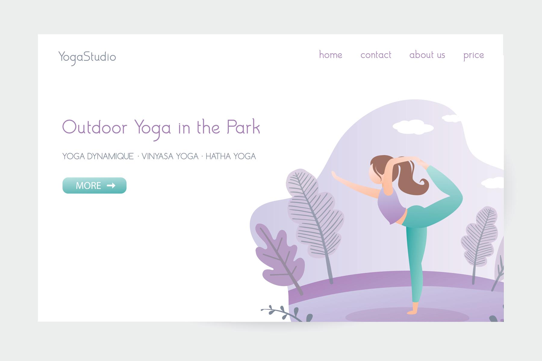 Huge yoga set in trendy style example image 6