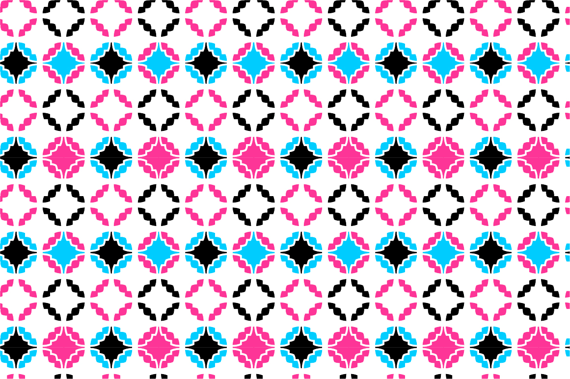 Colorful ornamental patterns. example image 6