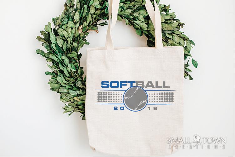 Softball, Ball sport, Sports, Team logo, PRINT, CUT & DESIGN example image 2