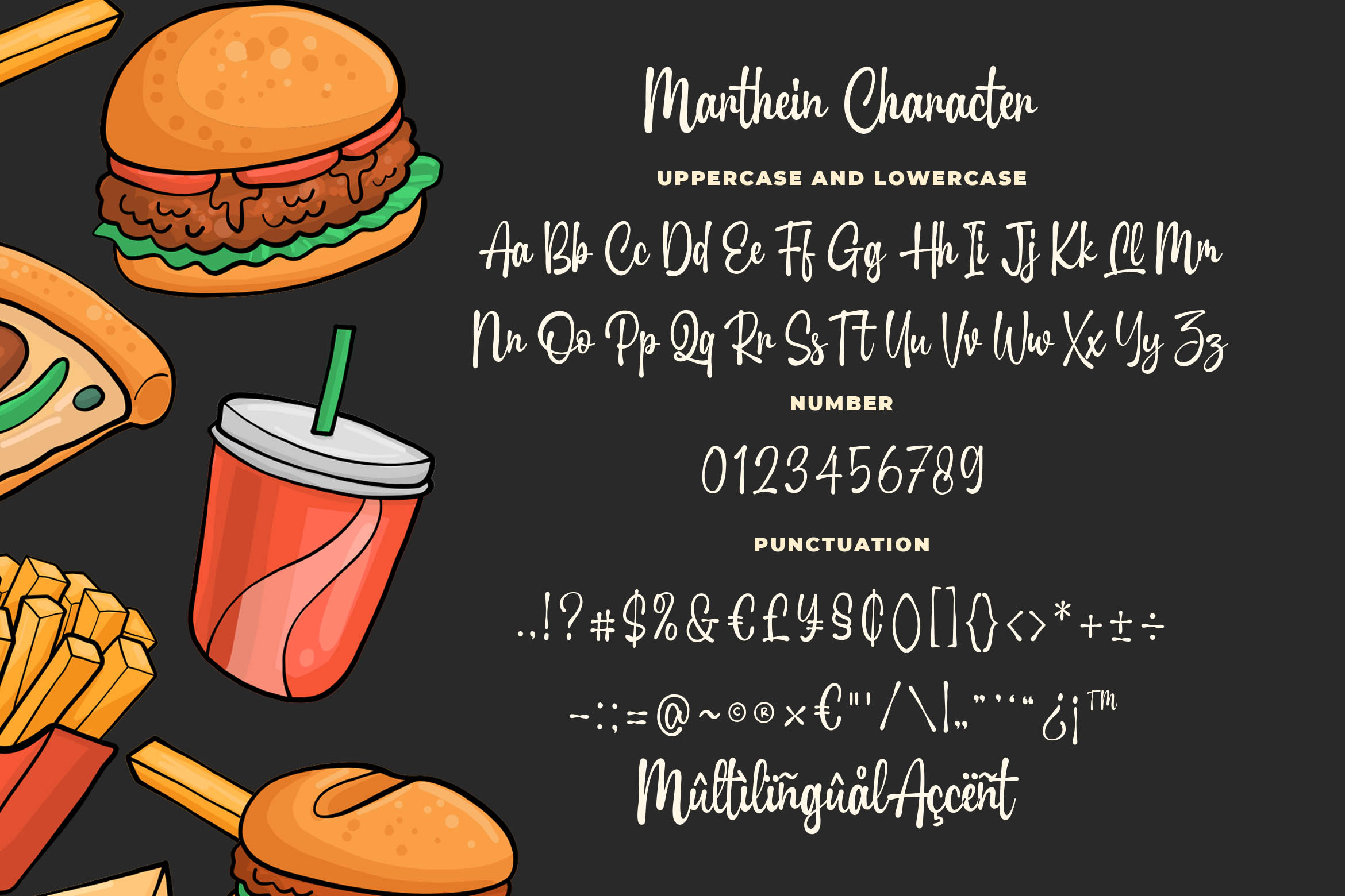 Marthein - Delicious Font example image 5
