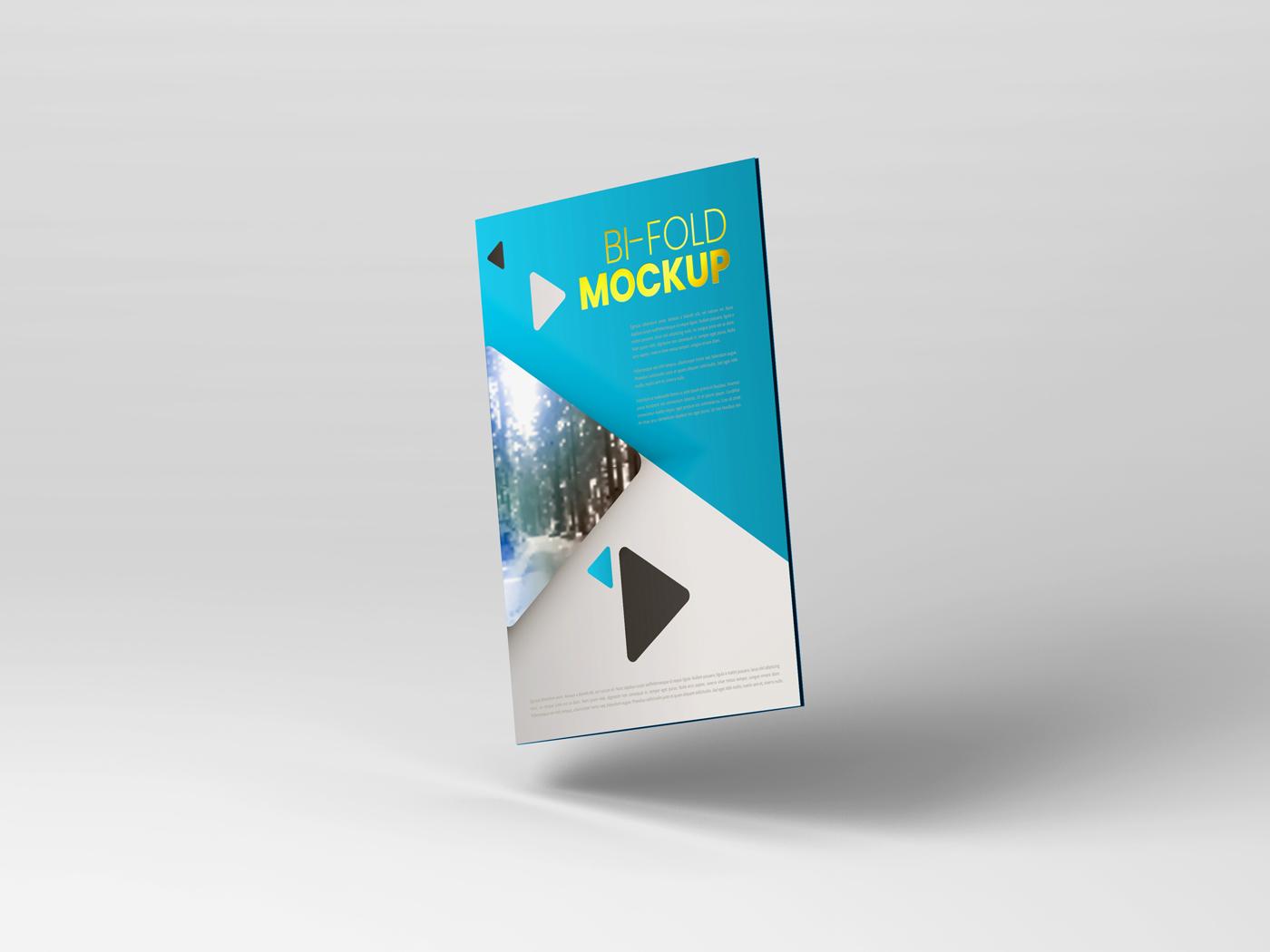 A4 Bifold Mockups V2 example image 10