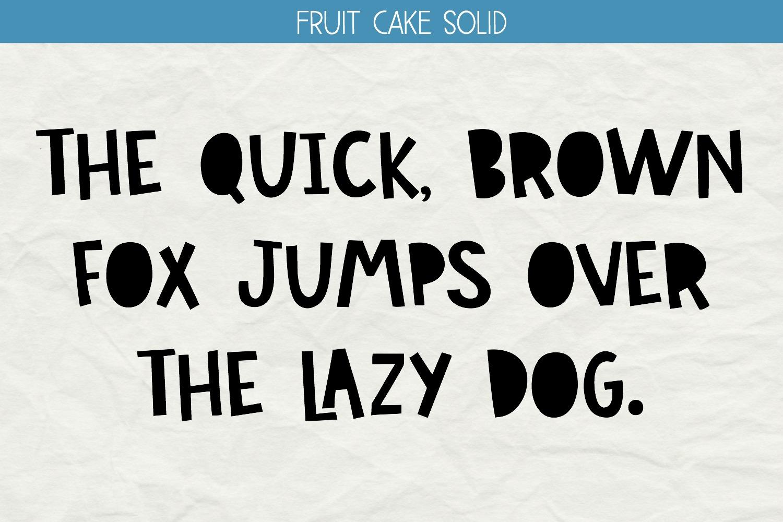 Fruit Cake Handwritten Font example image 4