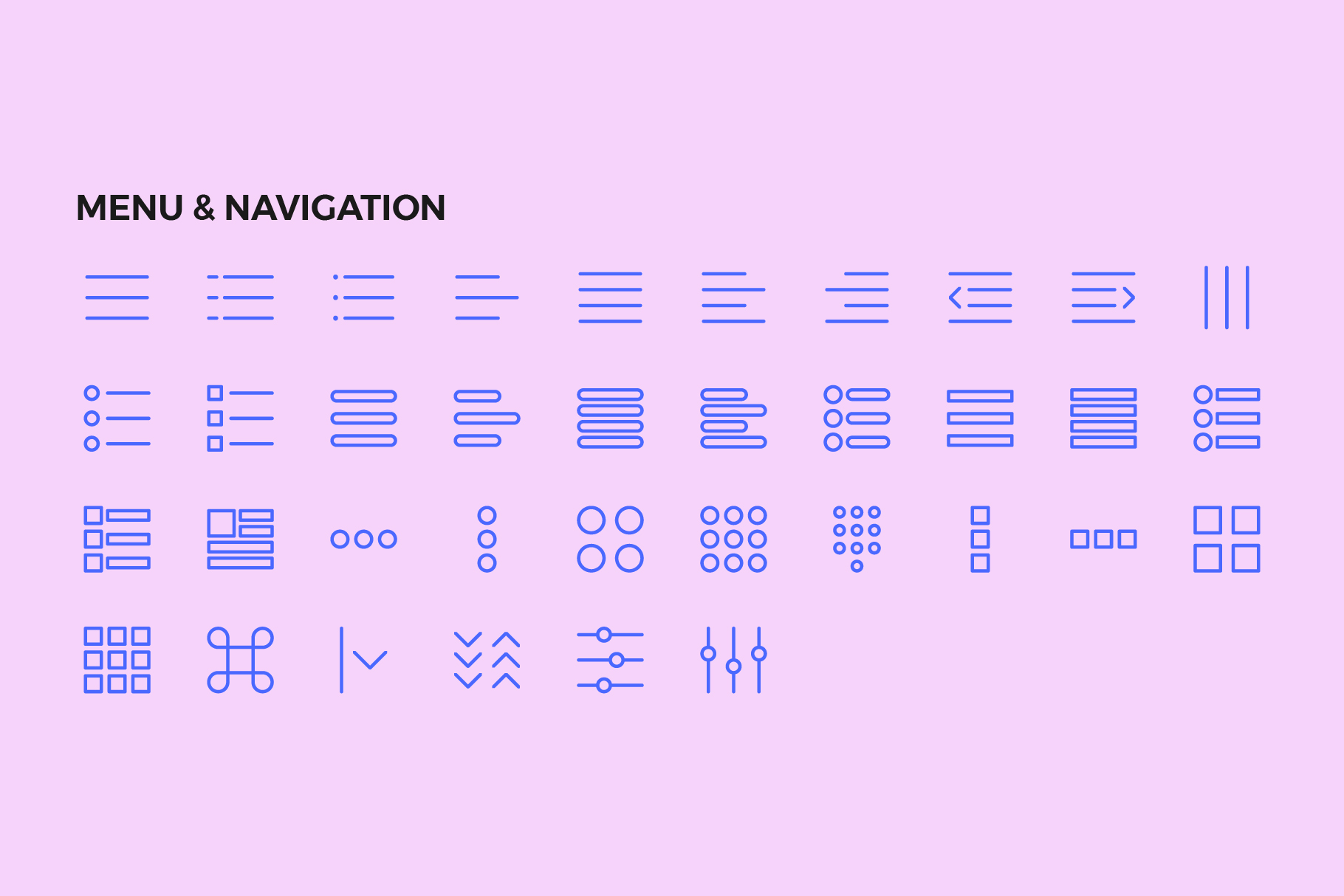 250 User Interface Line Icons example image 7
