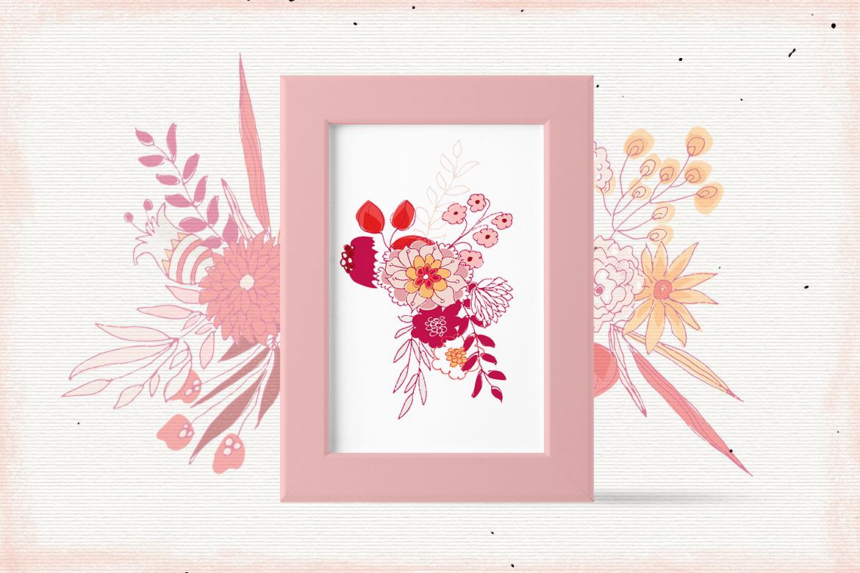 Scarlet Flowers example image 6