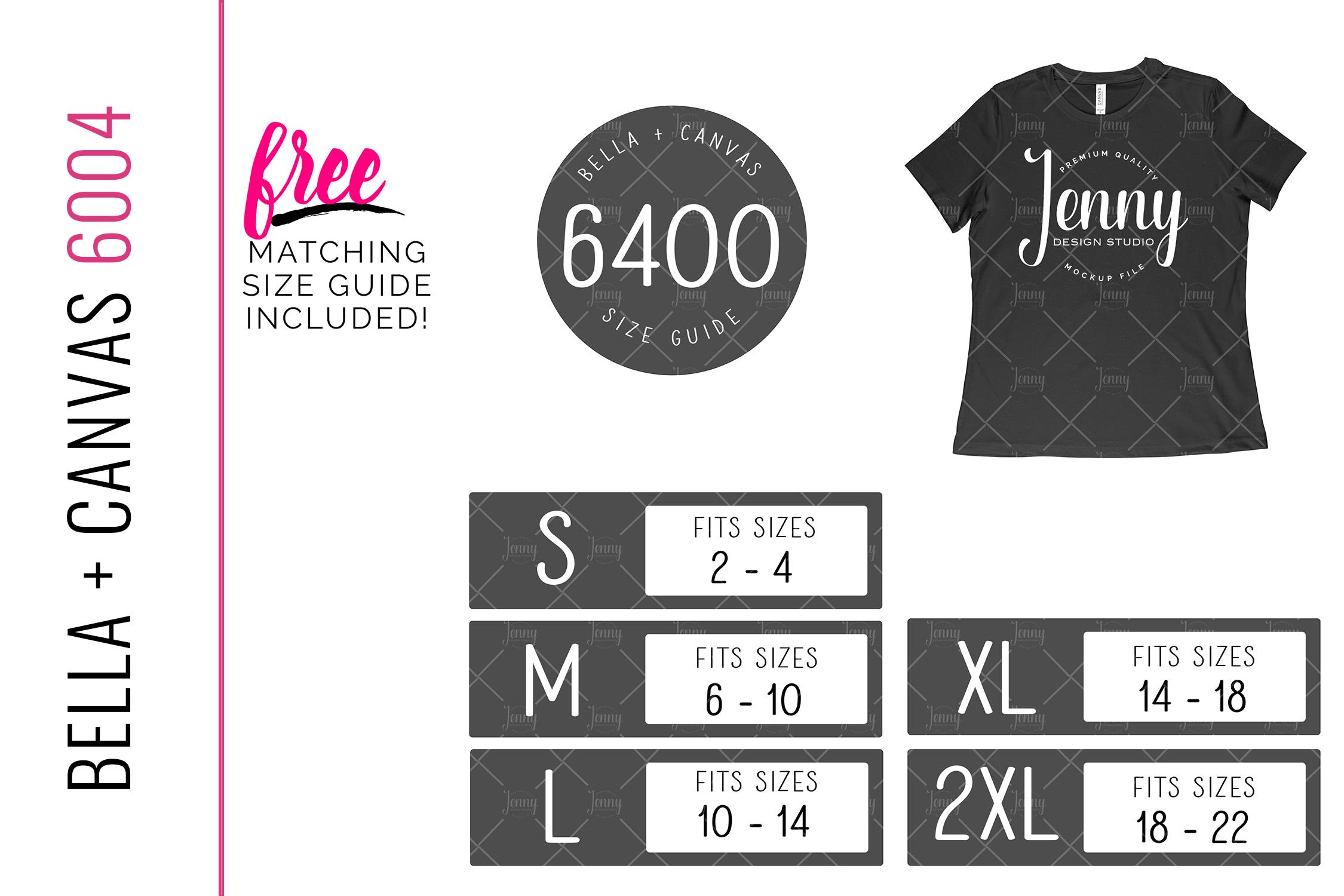 Bella Canvas 6400 Mockup Bundle, Womens T-Shirt, 40 Mockups example image 2