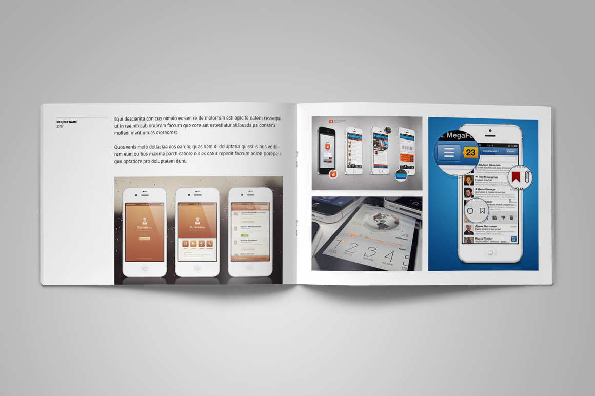 Portfolio Brochure Template example image 13